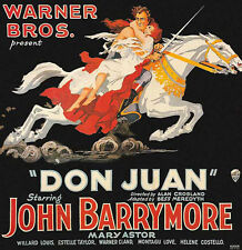 Don Juan - 1926 - John Barrymore Alan Crossland Vintage Silent Film DVD