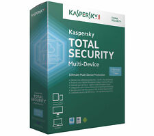 Kaspersky Total Security Multi-Gerät Device 3 PC/Geräte 1 Jahr Vollversion 2017