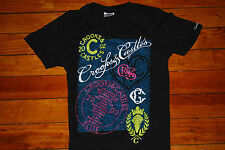 Women's Crooks and Castles Elite Tour  Graphic T-shirt (Small)
