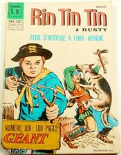 RINTINTIN & Rusty n° 100 spécial géant revue mensuel 1968 magazine Fort Apache