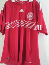 Denmark 2010-2011 Home Football Shirt Size Extra Large xl /39154