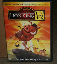 The Lion King 1 1/2 DVD 2-Disc Set Genuine Disney