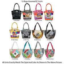 Wholesale Lot - 12 Women's G & M Style Handbags - Designer Tote & Satchel Purses