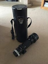 Canon 400mm FD 1:4.5 manual focus lens SSC + Case