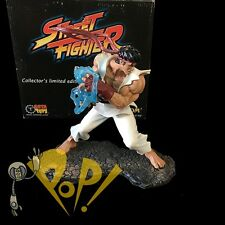 "STREET FIGHTER 10"" Statue RYU Hadouken SOTA Toys #6/225 Broken Fingers DEAL!"