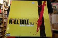 Kill Bill, Vol. 1 original soundtrack LP sealed vinyl OST reissue RE Tarantino