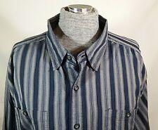 Harley Davidson Long Sleeve Button Down Dress Shirt Men's Tall 2XL