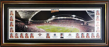 WESTS TIGERS 2005 NRL PREMIERS PANORAMIC STADIUM PHOTO FRAMED NRL GRAND FINAL 05