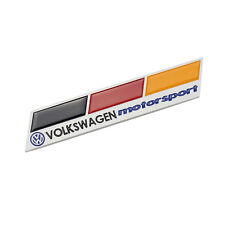 German Flag 3D Aluminum Emblem Car Badge Decal Sticker Motor Sport VW Volkswagen