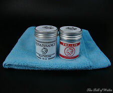 Renaissance Wax & Pre-Lim Surface Cleaner - 65ml Tins with Two Microfiber Cloths