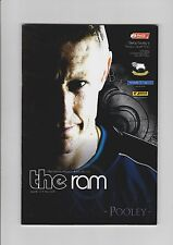 Derby County v Preston North End - Official Matchday Programme  10-12-2005