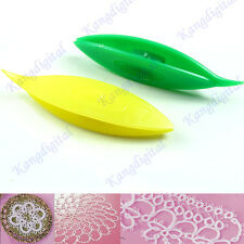 Pack of 2 pcs Plastic Tatting Shuttle For Hand Lace Making Craft Tool