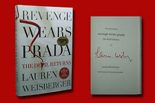 Lauren Weisberger SIGNED Revenge Wears Prada  ( NEW )