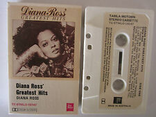 DIANA ROSS GREATEST HITS AUSTRALIAN RELEASE CASSETTE TAPE