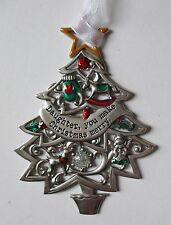 aad Daughter you make Christmas Merry ORNAMENT Wishes Tree Ganz car charm
