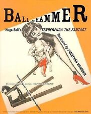 Ball and Hammer: Hugo Ball's Tenderenda the Fantast, Hugo Ball, New Book