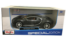 Bugatti Chiron Grey 1/24 Scale Diecast Car Model By Maisto 31514