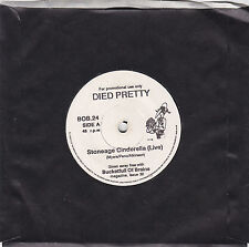 """DIED PRETTY - stoneage cinderella / OUTSKIRTS OF INFINITY - stoned crazy  7"""""""