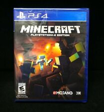 Minecraft: PlayStation 4 Edition  (Sony PlayStation 4) Brand New / Sealed /
