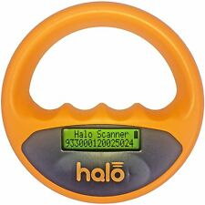 Halo Pet Microchip Reader Universal Scanner Orange