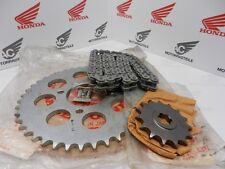 Honda CB750 Four F2 Supersport Kettensatz Kette Ritzel Kettenrad Chain Sprocket