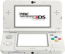 Nintendo NEW 3ds-console #weiß (incl. Câble d'alimentation) NEUF