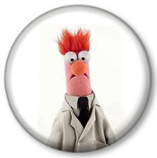 "Beaker 1"" 25mm Pin Button Badge TV The Muppets Show Sesame Street Puppets Cute"