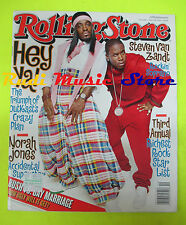 ROLLING STONE USA MAGAZINE 944/2004 Outkast Norah Jones Steven Van Zant  No cd