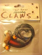 bear claw necklace pendant bear claw jewelry resin pendant black cord beads