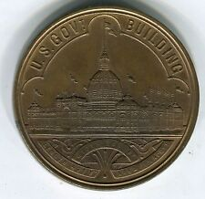 1893 $1 World's Columbian Exposition Official Medal HK-154 AU