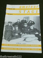 AMATEUR STAGE - 'THE HIRED MAN' - MARCH 1987