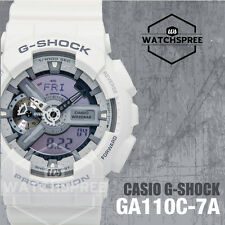 Casio G-Shock Hyper Colors - Black & White Series Watch GA110C-7A
