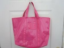 VICTORIA'S SECRET Beauty Candy Large Tote Bag Purse Pink Plastic Jelly EUC