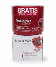 Babaria Aloe Vera and Pomegranate Face Cream for Combination Skin 50ml + free Bo