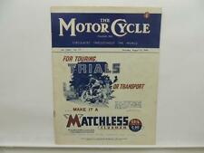 Aug 1 1946 The Motorcycle Magazine Matchless Clubman G3/L G80 Ariel L8502