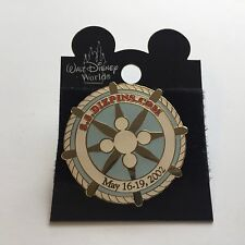 Fantasy Pin - S.S. DIZPINS.COM May 2002 Cruise Event White Disney Pin 11798