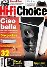 HI-Fi Choice magazine with Thorens TD 150 Grado SR60i Naim Uniitlite March  2013