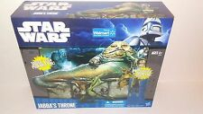 New Sealed Star Wars Jabba's Throne play set+ Oola figure walmart exclusive