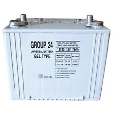 UPG Group 24 Gel Type  Battery 12V 75Ah For AGM1265T Wheelchair