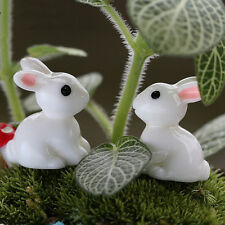 Resin Craft Plant Pots Garden Ornament Miniature Figurine Fairy Dollhouse Decor