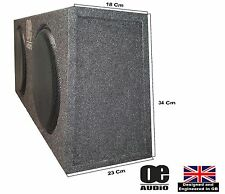 "Double 10"" Subwoofer Slim Shallow Active Bassbox for MPV Built in Amplifier"
