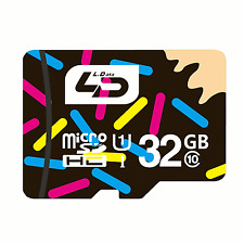 New 32 GB Micro SD 10 Class TF Memory Card High Speed PC Phones Camera 2 #455