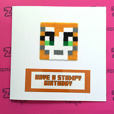 Have A Stampy Birthday Card (Stampy Cat StampyLongNose)