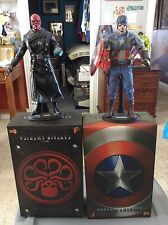 Hot Toys Captain America & Red Skull Set First Avenger