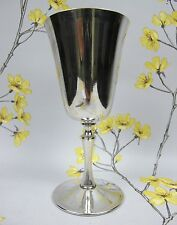 Vintage silver plated Arthur Price WINE GOBLET / FOOTED CUP / GLASS. 16.5 cm