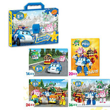 Robocar Poli friends puzzle set with bag / Poli puzzle 4EA (standard & sweety)