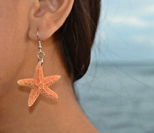 Starfish Earrings Jewelry Beach Wedding Mermaid Ear Nautical Ariel Ocean Star