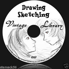 Drawing & Sketching - How to draw - 90 Books on DVD Pen , Ink, Pencil, Art  1