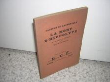 1923.mort d'Hippolyte / Jacques de Lacretelle.envoi autographe.Marie Laurencin