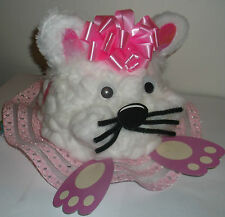 Girls Handmade Easter Bonnet Hat Bunny Rabbit Easter Party Competition Or Parade